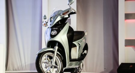 Hero Leap Hybrid Scooter 2014