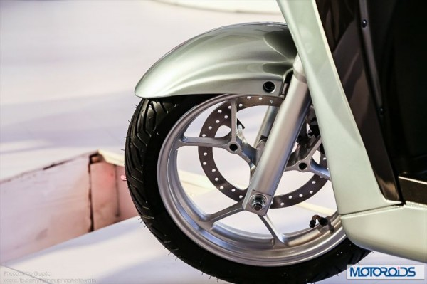 Hero Motocorp Leap Hybrid scooter (4)