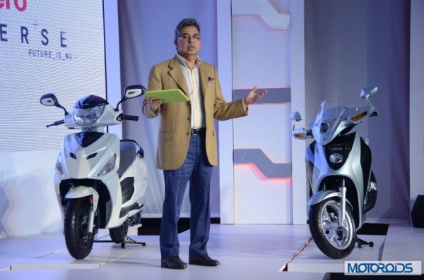 Hero Motocorp Leap and Dash scooters