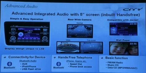 Honda City India launch live Advacne Audio