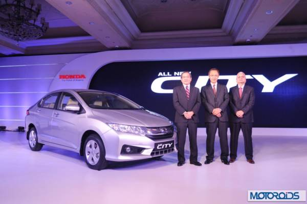 Honda City India launch official image