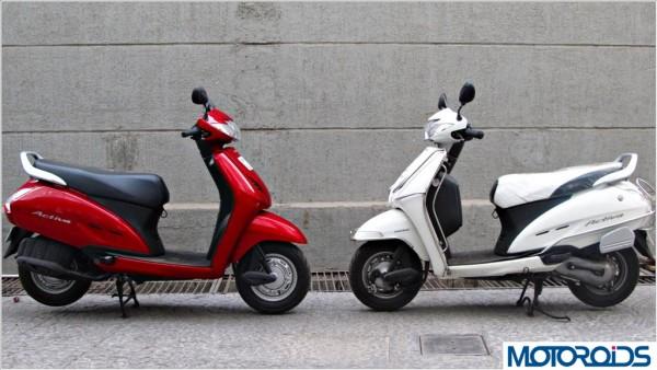 Honda Motorcycles HMSI December 2013 sales