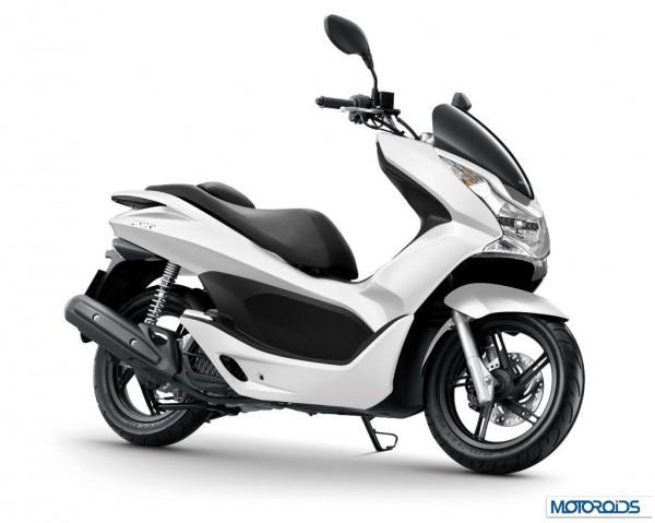 Honda PCX 2014 Auto Expo 2014