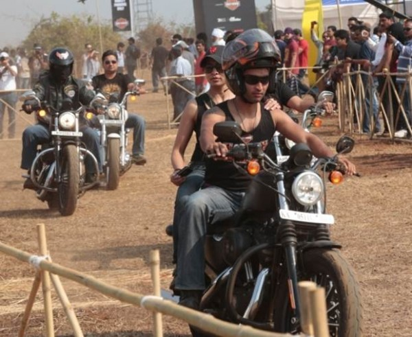 India HOG Rally for IBW 2014