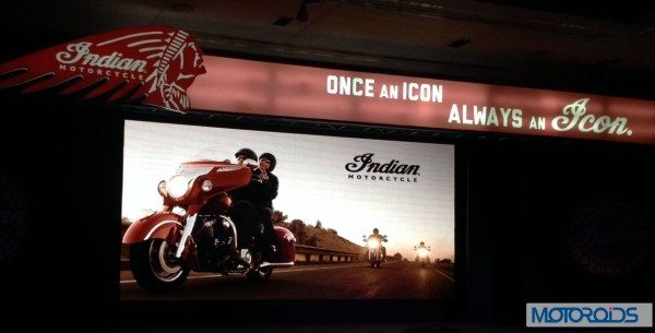 Indian Motorcycles india launch event