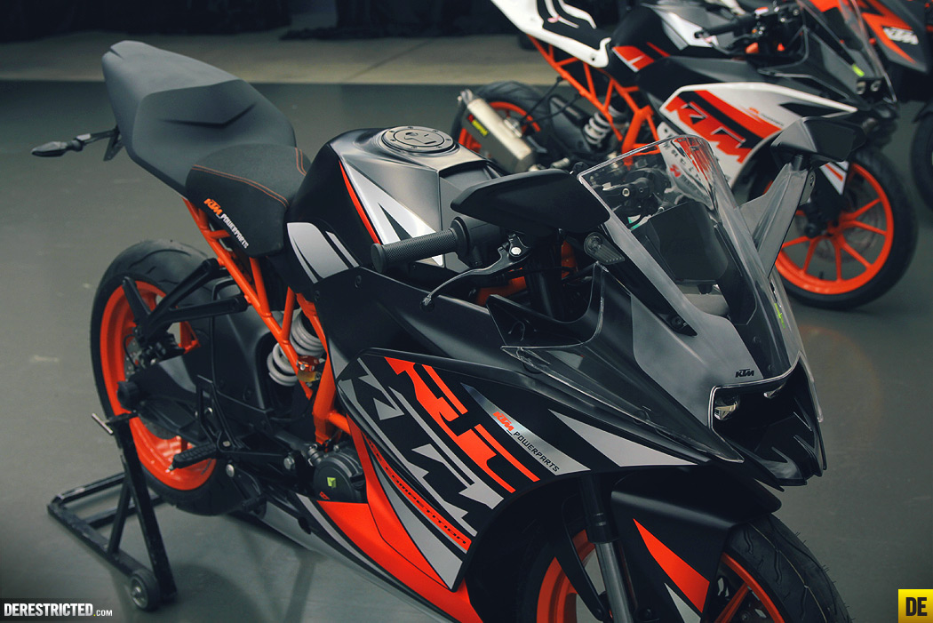 Photo Feature The Ktm Rc125 Ktm Rc200 And Ktm Rc390