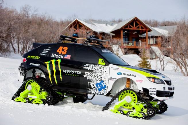 Ken Block Subaru STI Trax