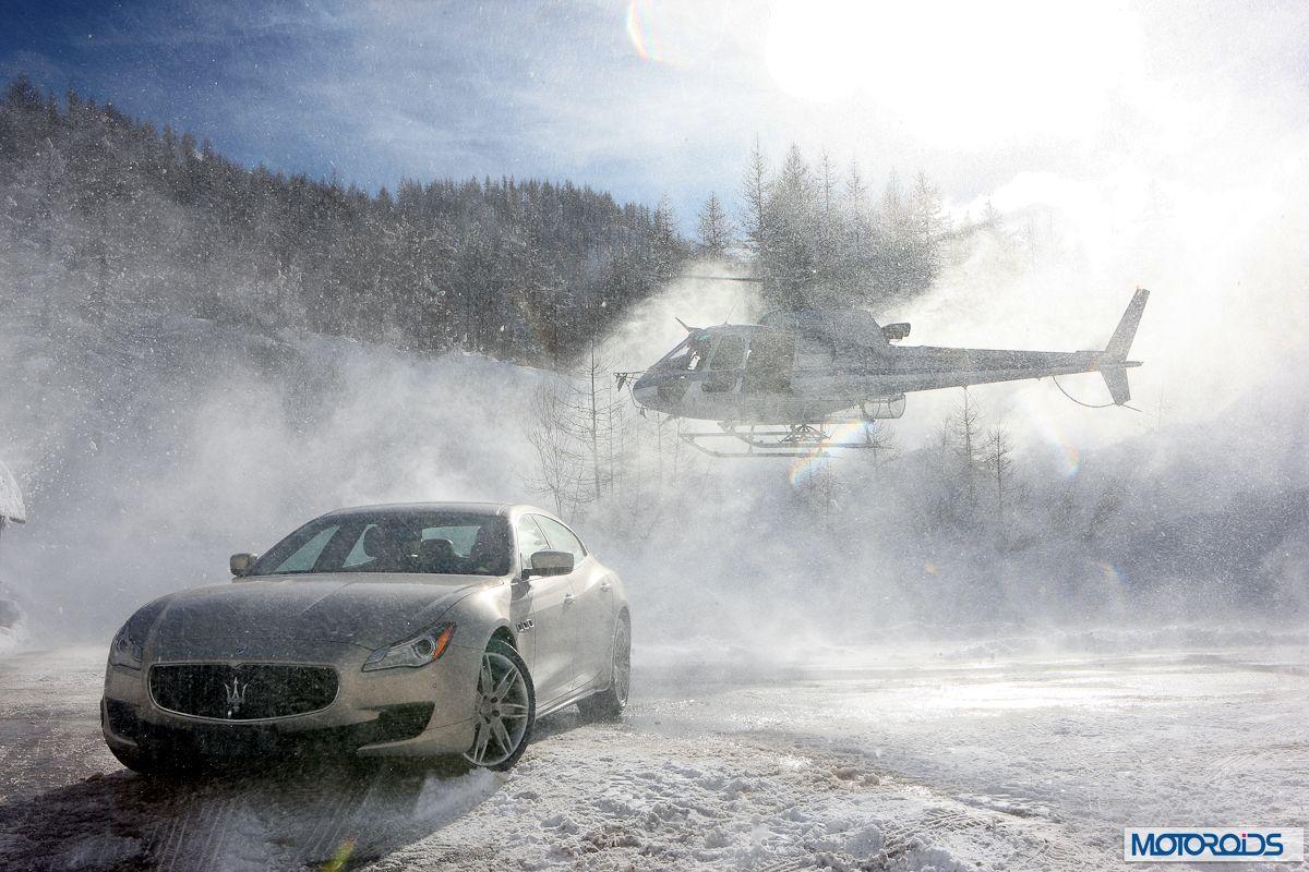 Maserati Quattroporte Q4 on snow (2)