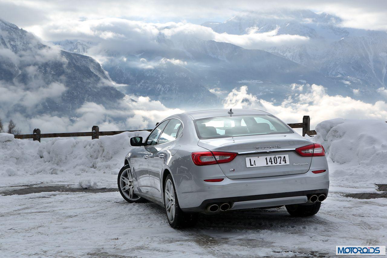 Maserati Quattroporte Q4 on snow (4)