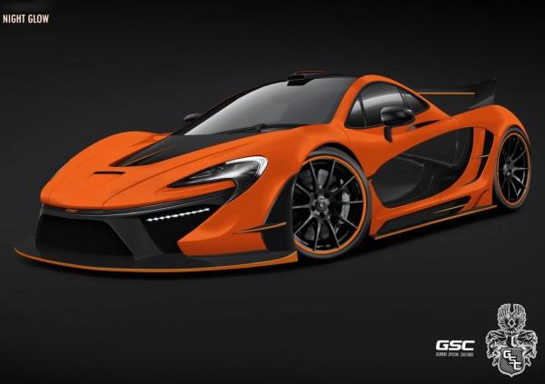 McLaren p1 Night Glow by German Special Customs (1)