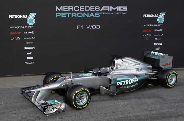 Mercedes AMG Petronas F1 car