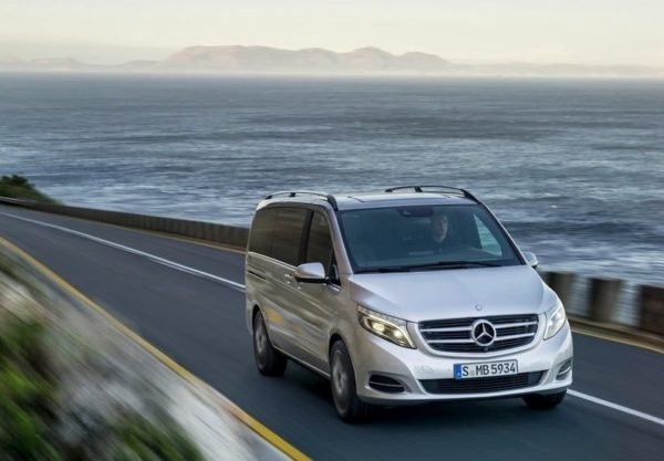 2015 Mercedes-Benz V-Class Revealed [Image Gallery included]