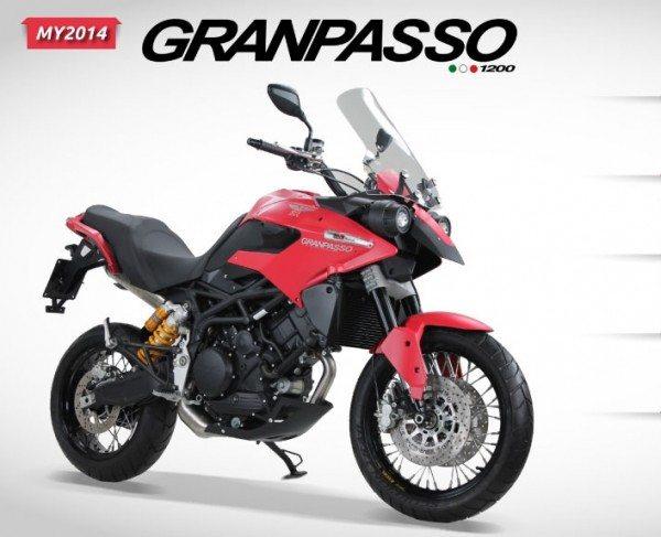 Moto Morini Granpasso Auto Expo 2014