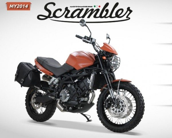 Moto Morini Scrambler Auto Expo 2014