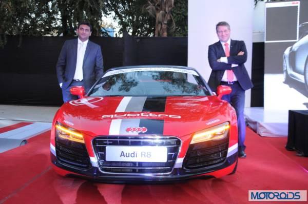 Mr. Joe King and Kapil Pashankar at the Audi Nashik inauguration