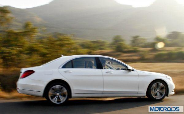 New 2014 Mercedes S Class S500 Action shots (18)