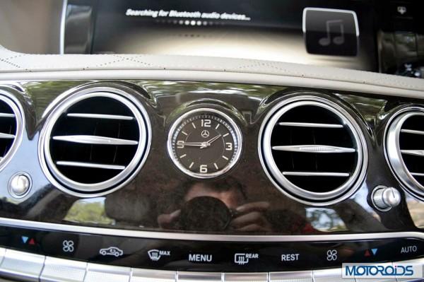 New 2014 Mercedes S Class S500 interior