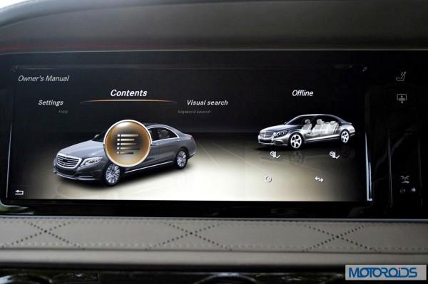 New 2014 Mercedes S Class S500 screen menus (31)
