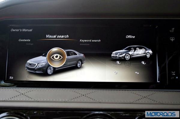 New 2014 Mercedes S Class S500 screen menus (32)