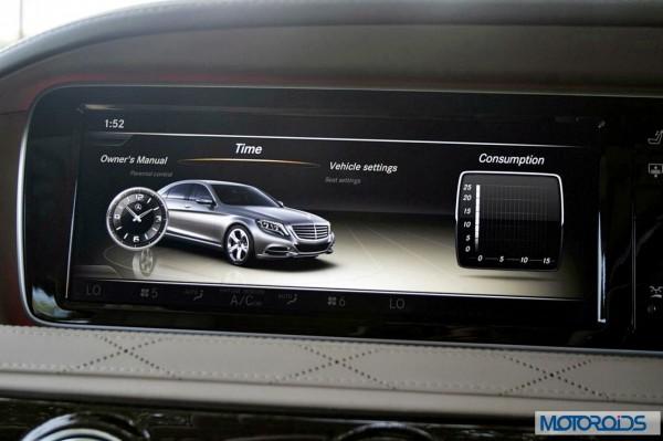 New 2014 Mercedes S Class S500 screen menus (33)