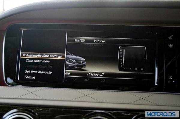 New 2014 Mercedes S Class S500 screen menus (34)
