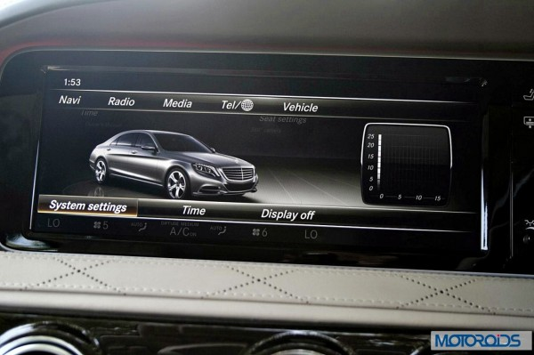New 2014 Mercedes S Class S500 screen menus (35)