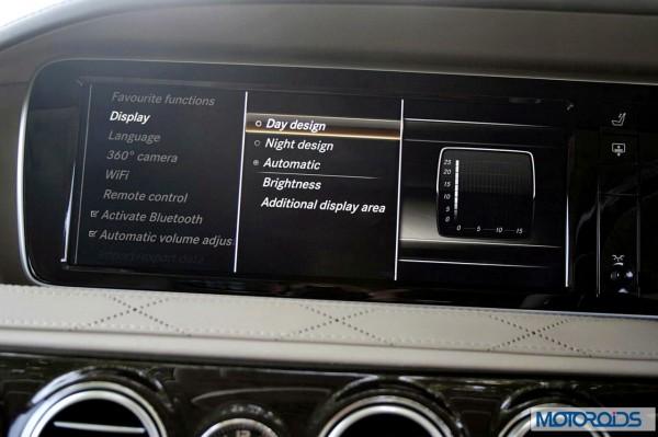 New 2014 Mercedes S Class S500 screen menus (37)