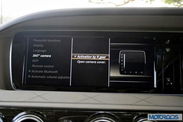 New 2014 Mercedes S Class S500 screen menus (39)