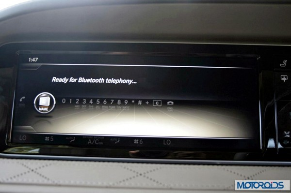 New 2014 Mercedes S Class S500 screen menus (4)