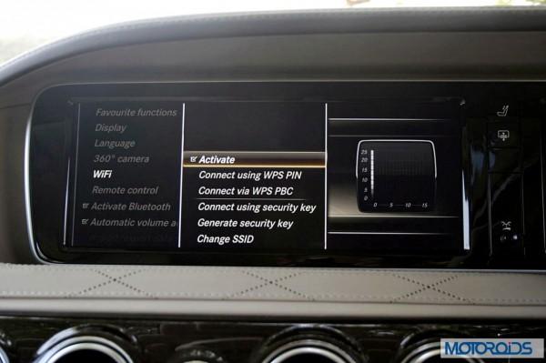 New 2014 Mercedes S Class S500 screen menus (40)