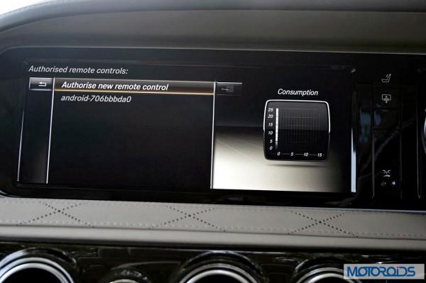 New 2014 Mercedes S Class S500 screen menus (41)