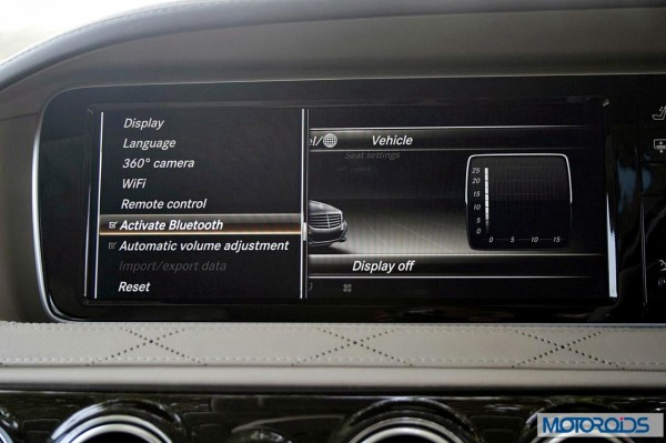 New 2014 Mercedes S Class S500 screen menus (42)