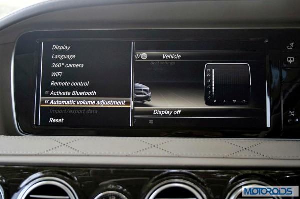 New 2014 Mercedes S Class S500 screen menus (43)