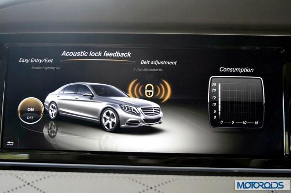 New 2014 Mercedes S Class S500 screen menus (6)