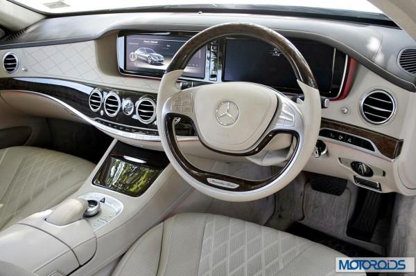 New 2014 Mercedes S Class dashboard