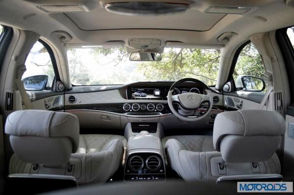 New 2014 Mercedes S Class dashboard (2)