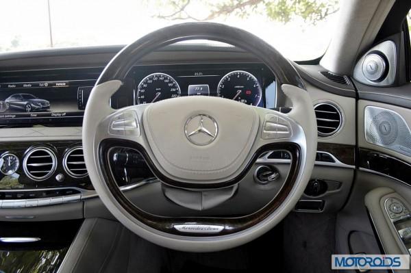 New 2014 Mercedes S Class interior (9)