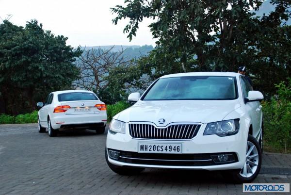 New 2014 Skoda Superb facelift India