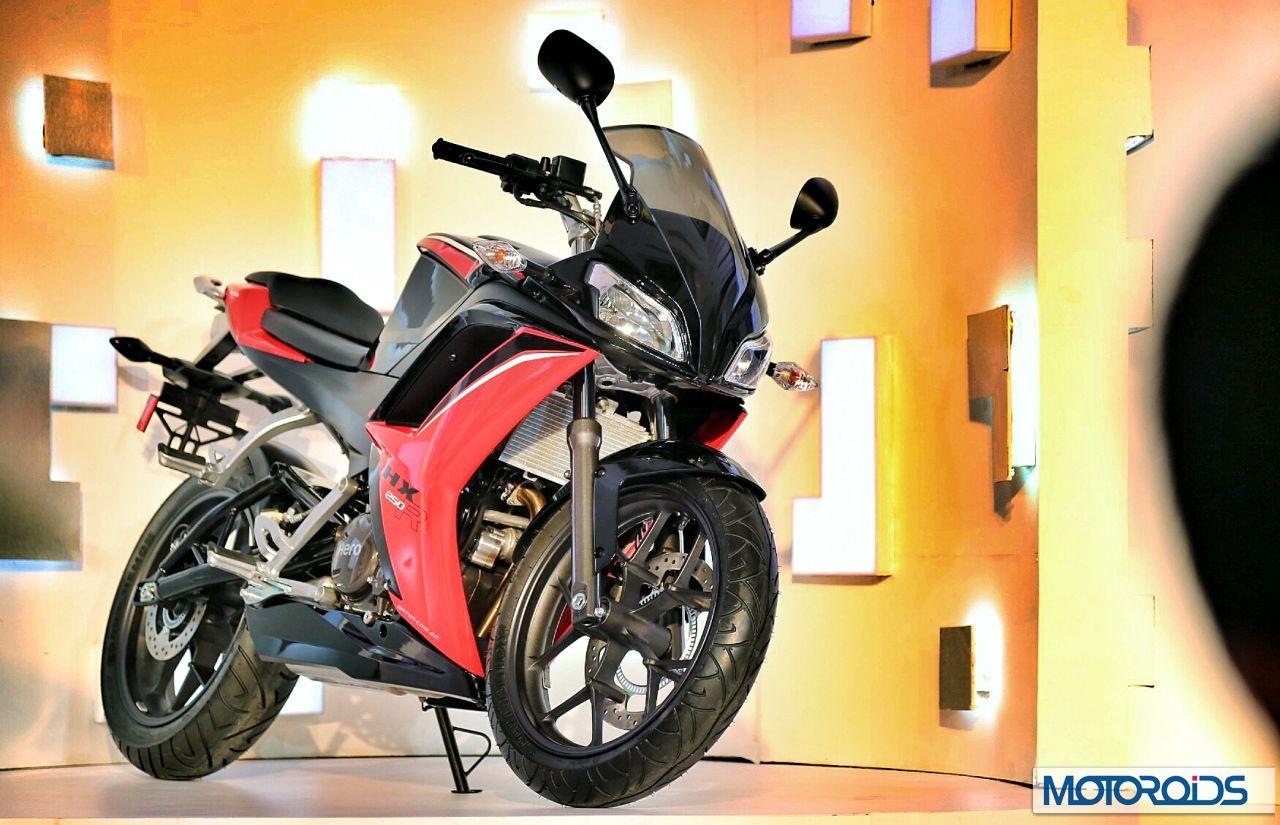 Hero Hx250r Unveiled Images Specs And Details Motoroids Honda Bikes India
