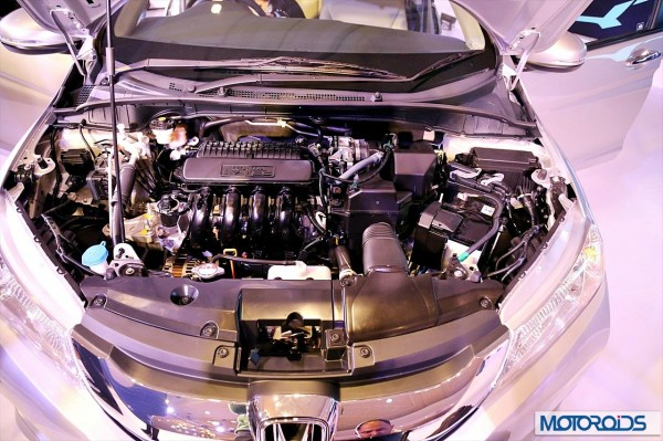 New Honda City petrol engine