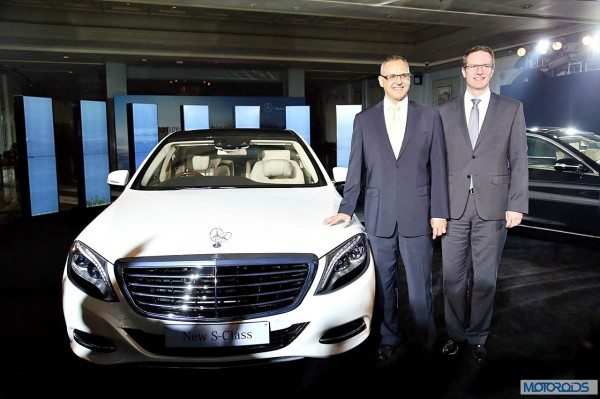 New Mercedes S Class India launch