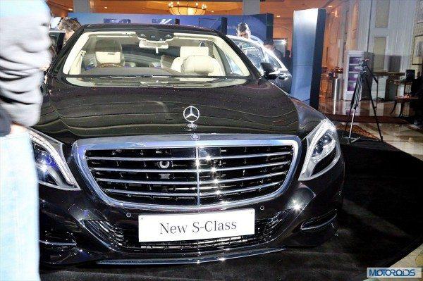 New Mercedes S Class exterior (1)