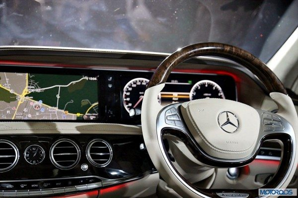 New Mercedes S Class interior (13)