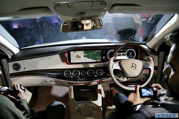 New Mercedes S Class interior (14)
