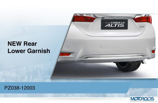 New Toyota Corolla Altis images (2)