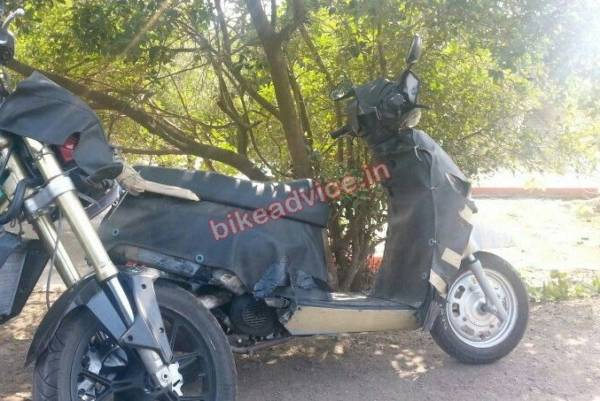 New mahindra scooter 110cc G101 (1)