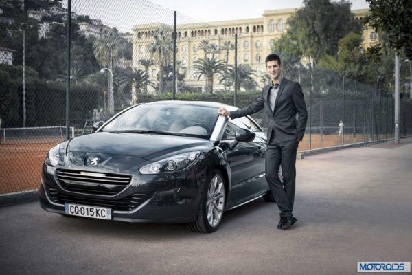 Novak Djokovic Peugeot brand ambassador (1)