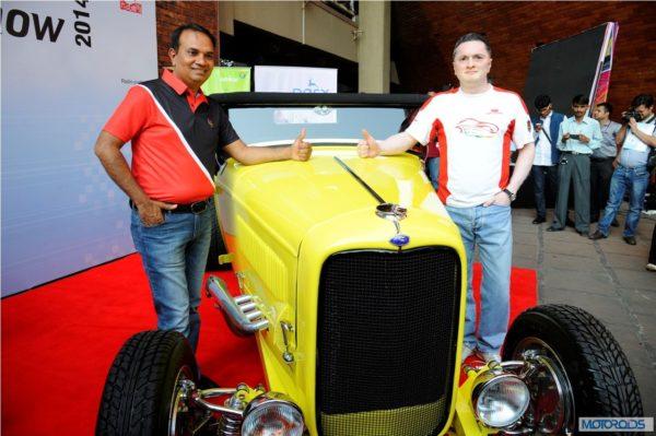 Parx Super Car show 2014 announcement with Gautam Singhania (1)