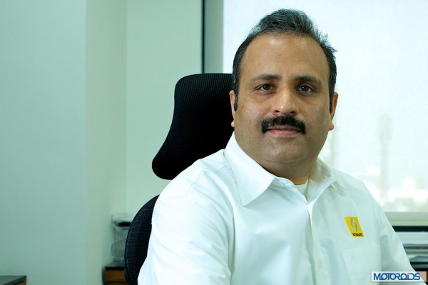 Sumit Sawhney Renault India MD