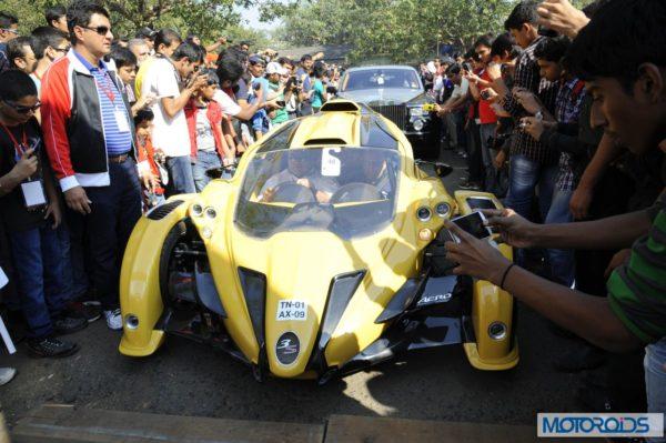 Super cars at the 6th Parx Super Car Show